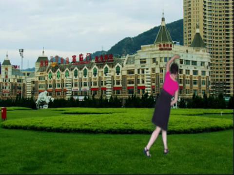 美女广场舞 山里红