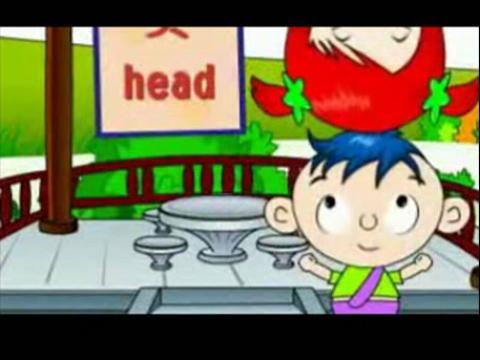 儿童学英语 身体部位