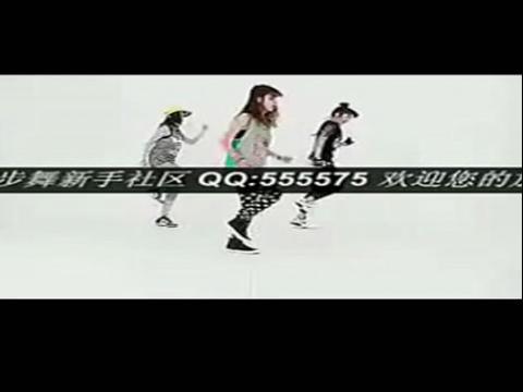 韩国美女 三人鬼步舞 墨尔本