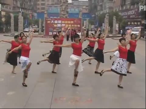 广场舞自由舞教学视频图集 兔子舞广场舞教学视频 爵士舞教学爵士舞