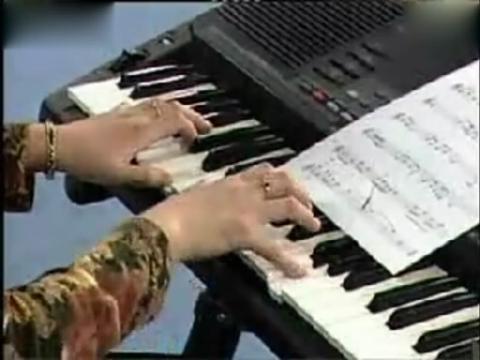 电子琴指法初级教程分享展示图片