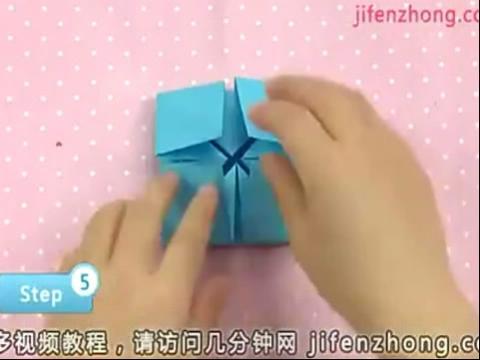 手工 小纸篮的制作【教学视频】