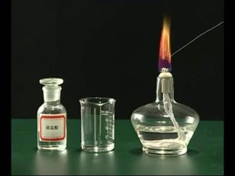 3.焰色反应实验演示 高中化学必修一