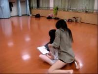 中国超萌妹子 美女曳步舞