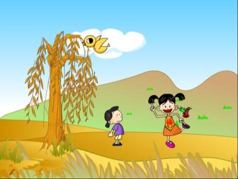 快乐宝宝儿童歌谣202 杨柳青放风筝