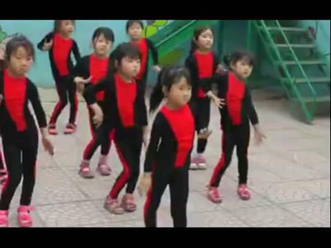 幼儿舞蹈视频 眉飞色舞
