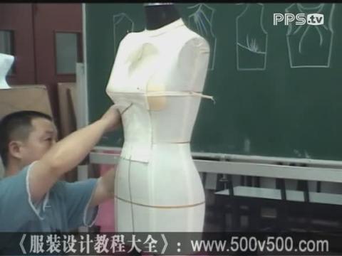 服装设计教程视频 服装设计效果图 手绘服装设计图 礼服服装设计手稿