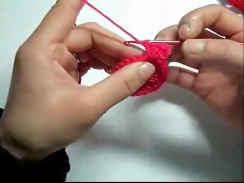 手工编织教学 胖胖鱼杯垫的钩法