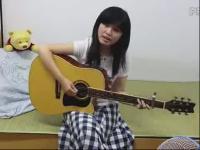 吉他弹唱 女生 滴答超流畅高清