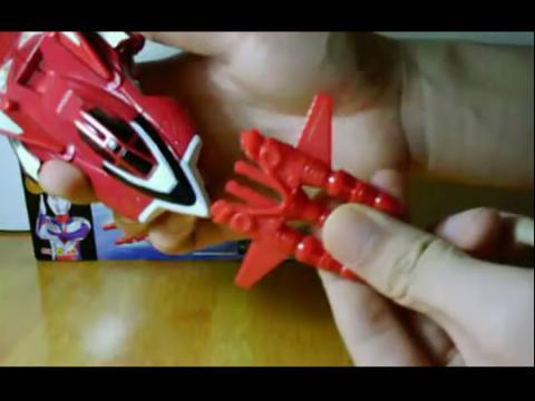 【迪迦奥特曼】 飞机火龙号
