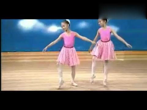 少古典芭蕾舞基本训练尔卡