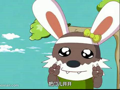 小兔乖乖简笔画