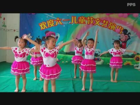 六一幼儿园小班舞蹈 蓝精灵