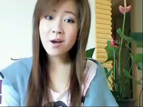 可爱美女教讲广东话 学粤语
