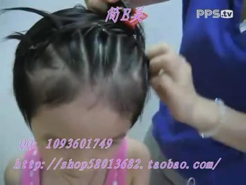 小孩短头发蜈蚣怎么编_发型设计