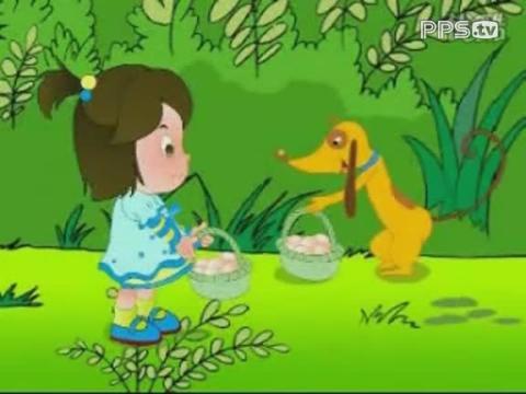 《幼儿画报》系列动画片-鸡蛋和小鸡