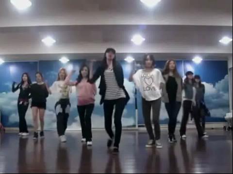 少女时代《mrtaxi》舞蹈教学