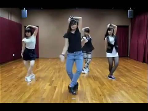 骑马舞江南style舞蹈教学视频03:45