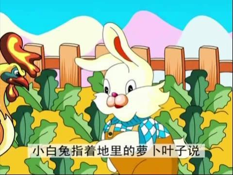 《小白兔种萝卜》