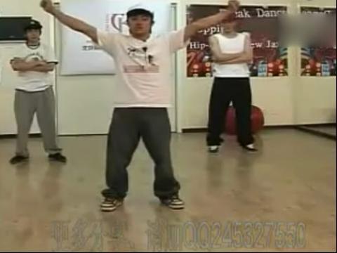 简单街舞教学托马斯视频