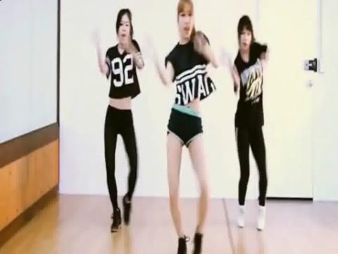 韩国女子舞团waveya大跳cl单曲《坏丫头》舞蹈