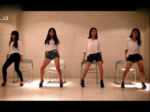 sga街舞爵士舞舞蹈教学视频