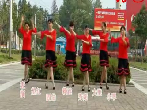 广场舞兔子舞9步 广场舞兔子舞16步 最简单的兔子舞视频