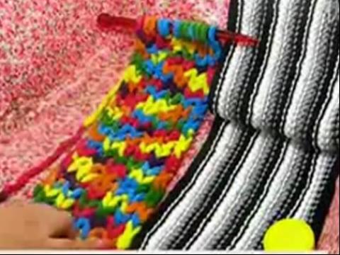 围巾的织法视频 织围巾如何计算起针数