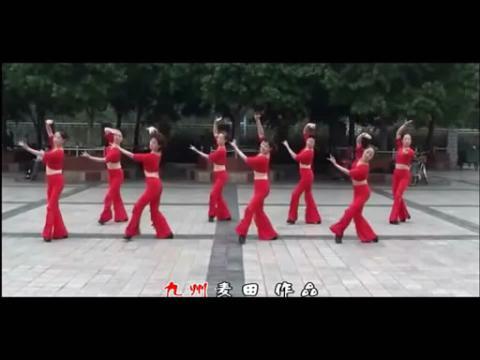 广场舞-红月亮 - 在线观看