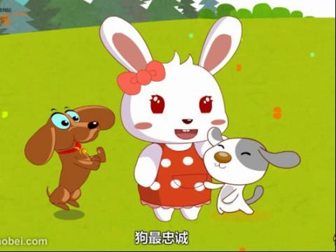 手绘雷锋兔