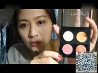 日常妆化妆教程 小清新淡妆美女视频解说教你5分钟画