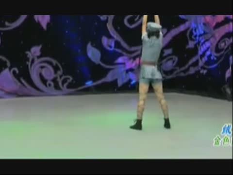 现代舞《绒花》少儿舞蹈独舞表演