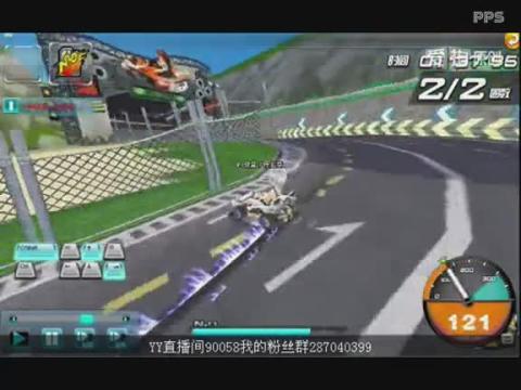 qq飞车视频 世界冠军程亚豪献跑 赛车游戏