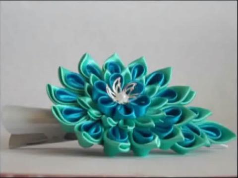 丝带花的制作过程 手工制作欣赏