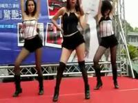 短裙美女 热舞