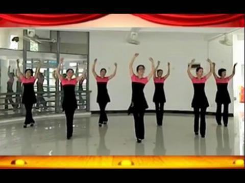 魅力广场新疆舞教学