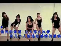 双胞胎美女短裤健身热舞