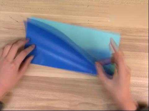手工折紙大全圖解-如何折鉆石戒指的折法圖解