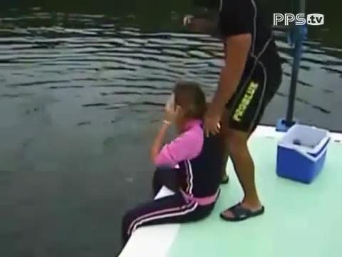 当美女遇到流氓海豚