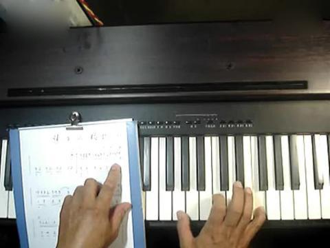梦中的婚礼钢琴教学 钢琴教学视频