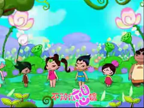 幼儿动画舞蹈教学视频——《云朵宝贝》之小青蛙
