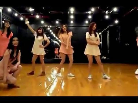6个人教学简单的韩国舞蹈教学视频分解动作no