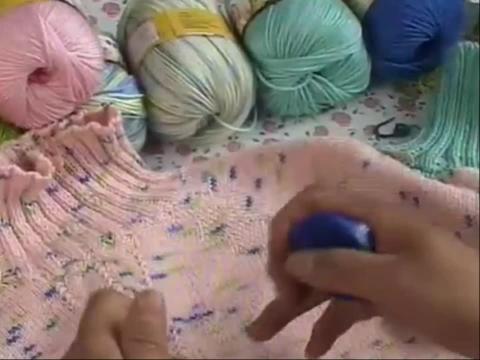 【娟子毛线店】毛衣编织视频