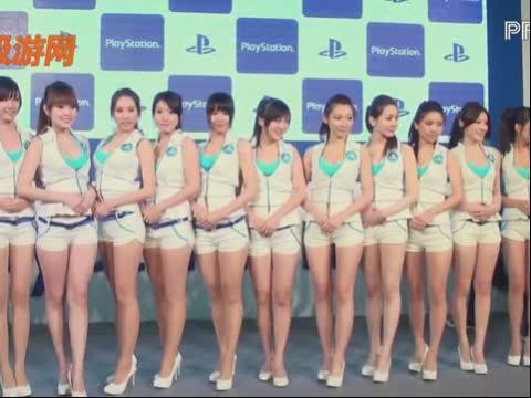 游戏showgirl美女2012chinajoy中青宝