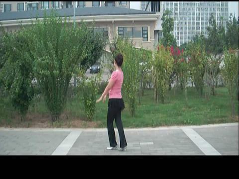 美久广场舞 印度美女 背面