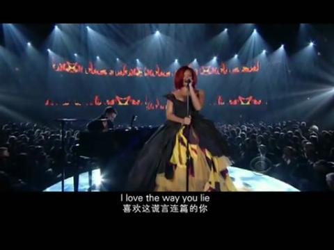 阿姆格莱美现场两曲连唱视频