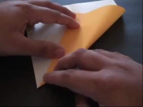 diy手工折纸 魔法棒的折法