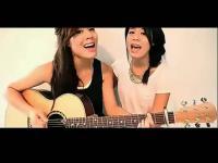 超好听!双胞胎美女 吉他弹唱