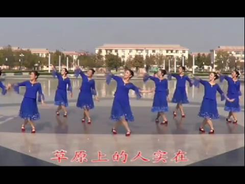 动动广场舞问候您_动动广场舞响亮的问候含分解教学