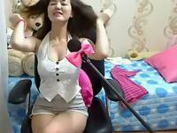 热舞内衣韩国女主播白色紧身裤图片美女们尴尬的紧身